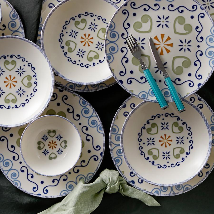 Karaca Akdeniz 6 Kişilik Yemek Takımı
