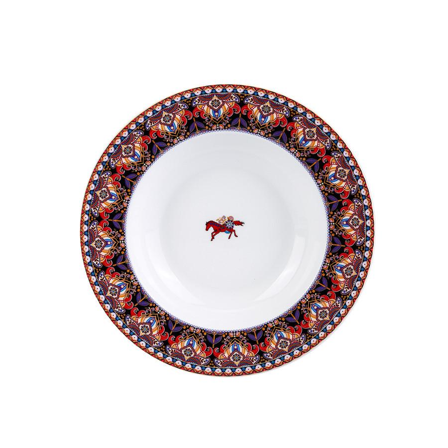 Karaca Agra 24 Parça 6 Kişilik Porselen Yemek Takımı