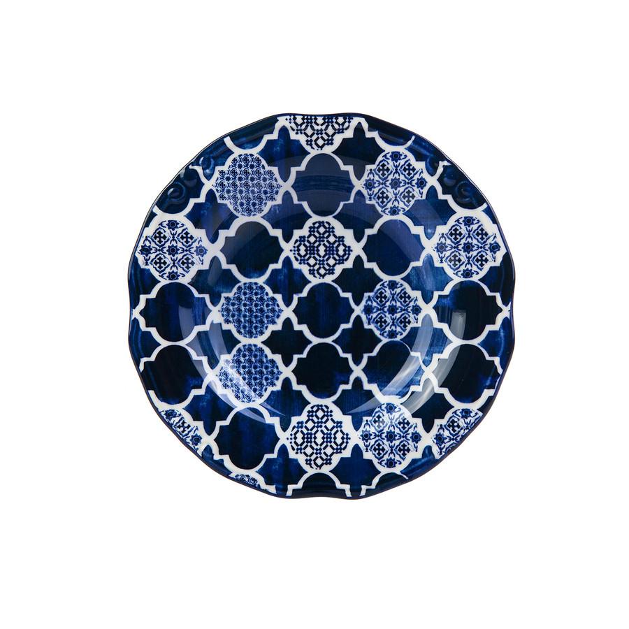 Karaca Deep Blue Yemek Tabağı