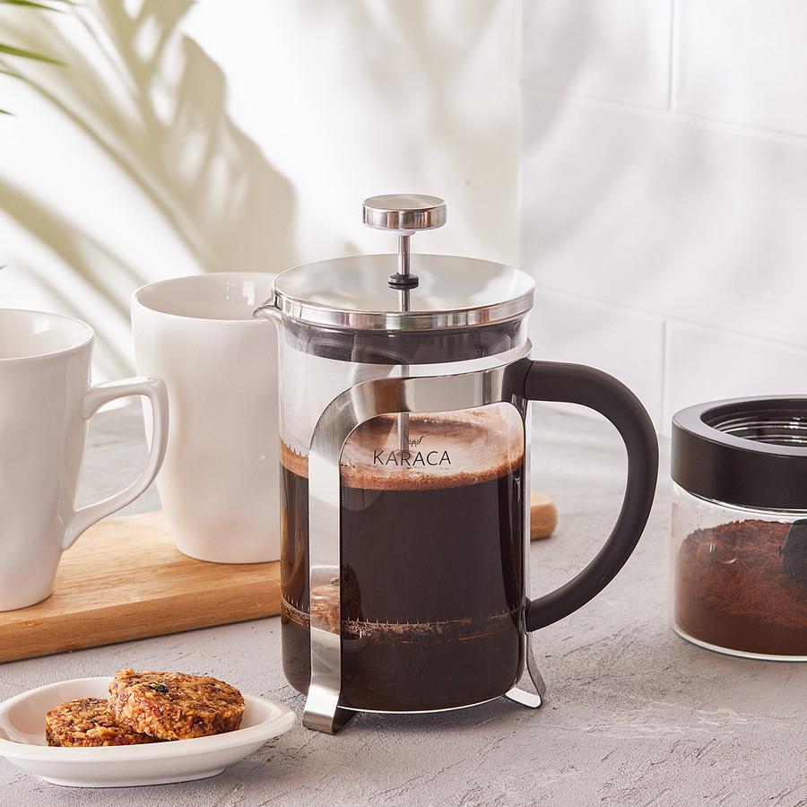 Karaca Coffee Bean French Metalik Press 800 Ml