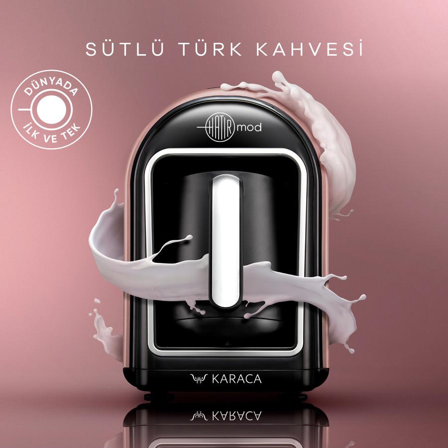 Karaca Hatır Mod Sütlü Türk Kahve Makinesi Rosegold