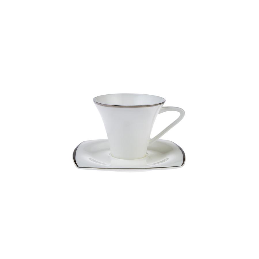 Karaca Fine Pearl Agate 26 Parça 6 Kişilik Kare İnci Kahvaltı Takımı