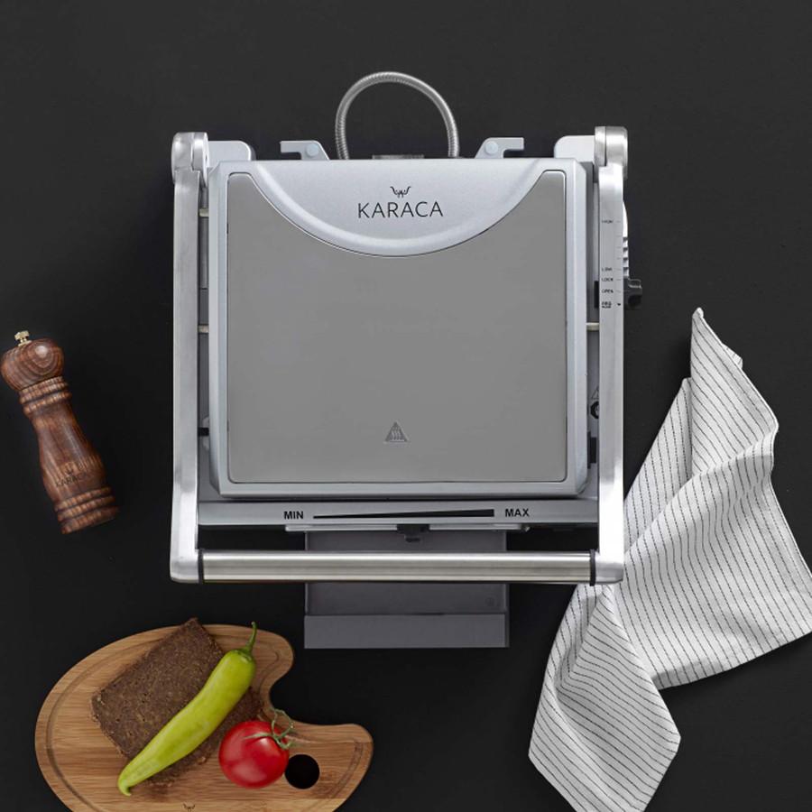 Karaca İnox Granit Izgara Ve Tost Makinesi
