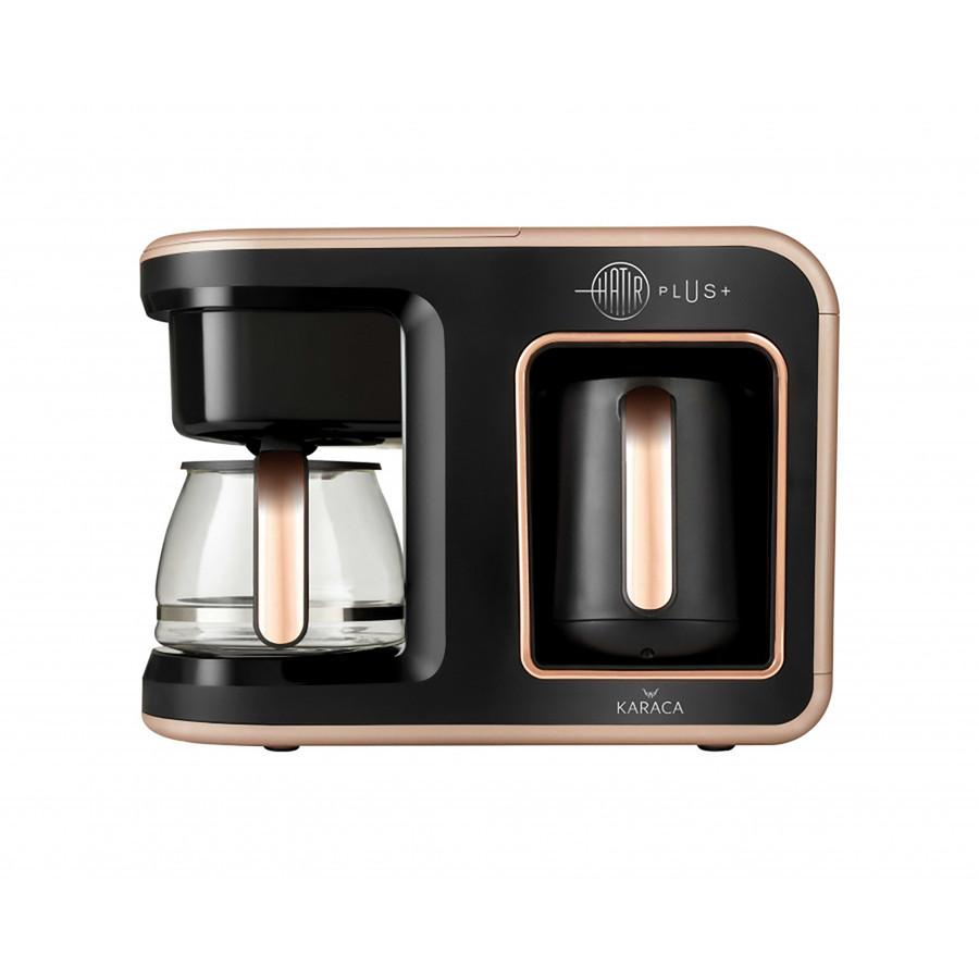 Karaca Hatır Plus 2 in 1 Kahve Makinesi Rosie Brown