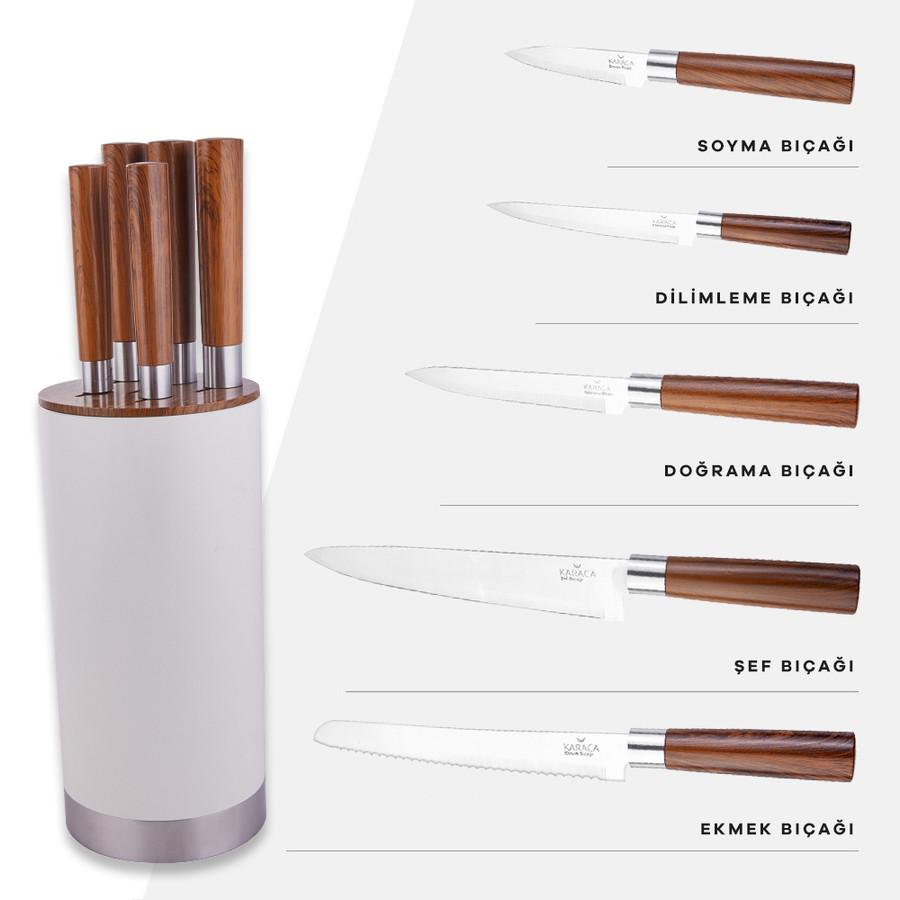 Karaca Foolproof 6 Parça Bıçak Seti