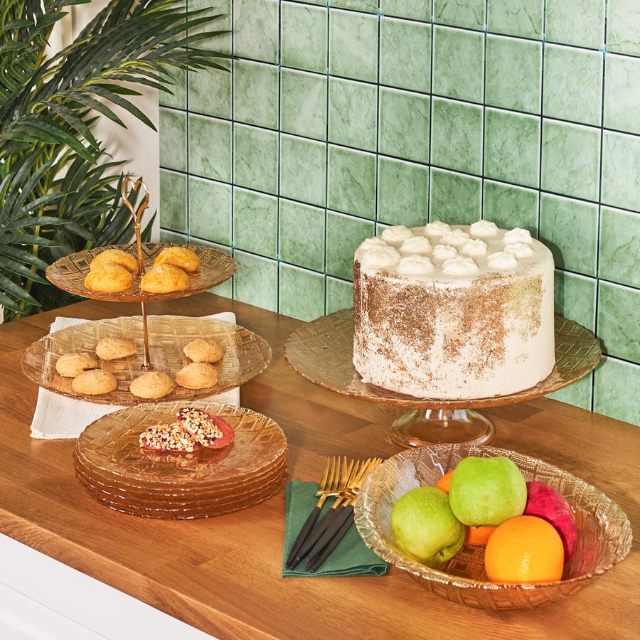 Karaca Bern 9 Parça Tatlı Kutu Pasta Takımı