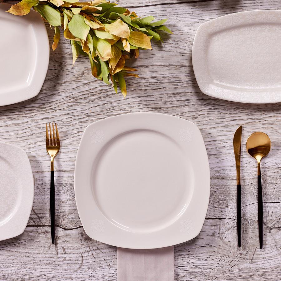 Karaca Deren 57 Parça 12 Kişilik Yemek Takımı