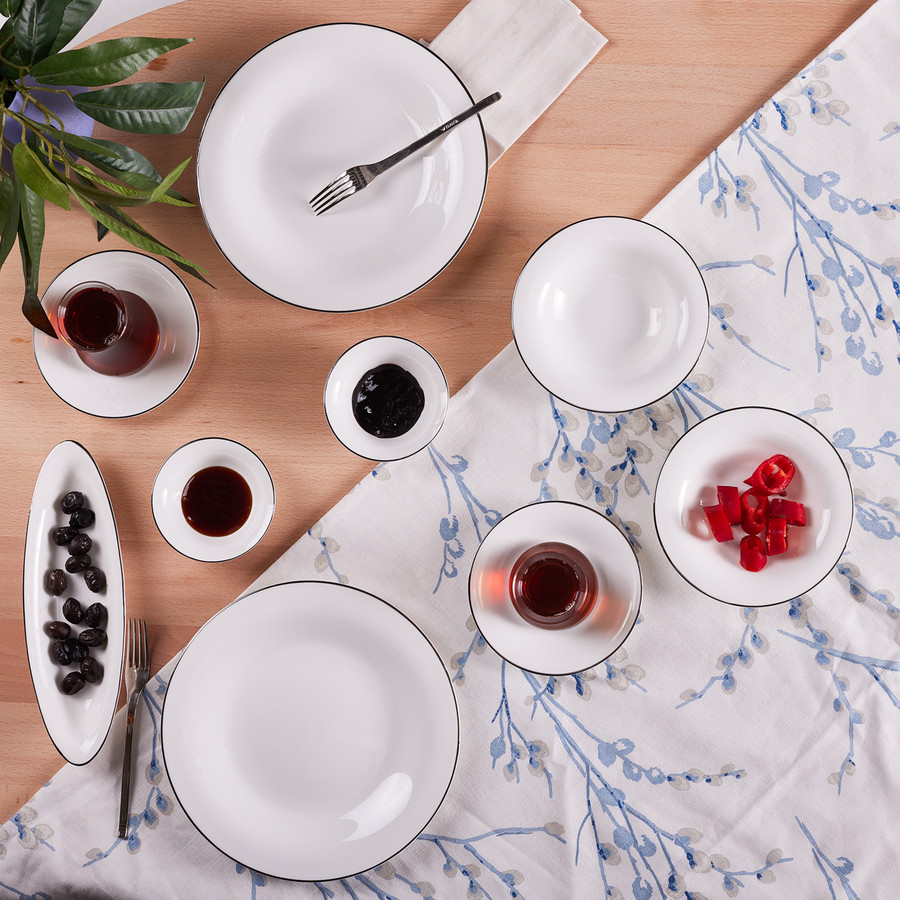 Karaca Fine Pearl New Fame 26 Parça 6 Kişilik Kahvaltı Seti