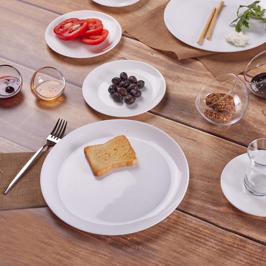 Karaca Darcy White 26 Parça 6 Kişilik Kahvaltı Takımı