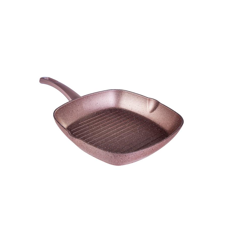 Karaca Biogranit Rosegold Tava+Grill Set