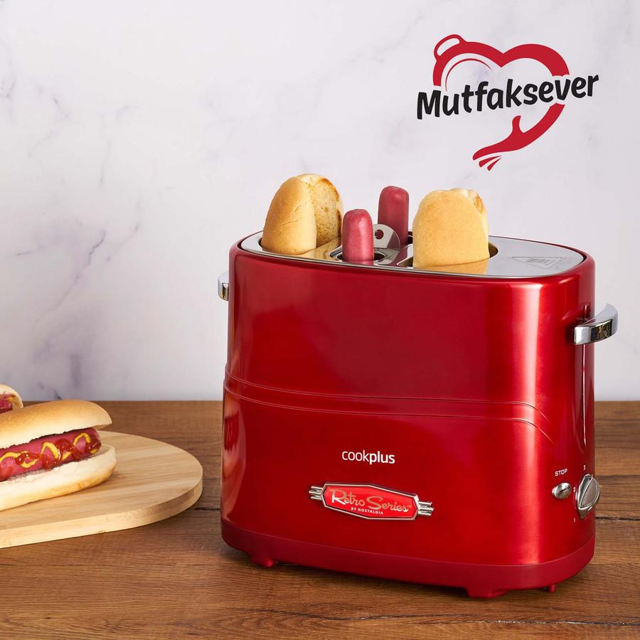 Cookplus by Karaca Mutfaksever 2li Sosisli Sandviç (Hot Dog) Yapma Makinesi