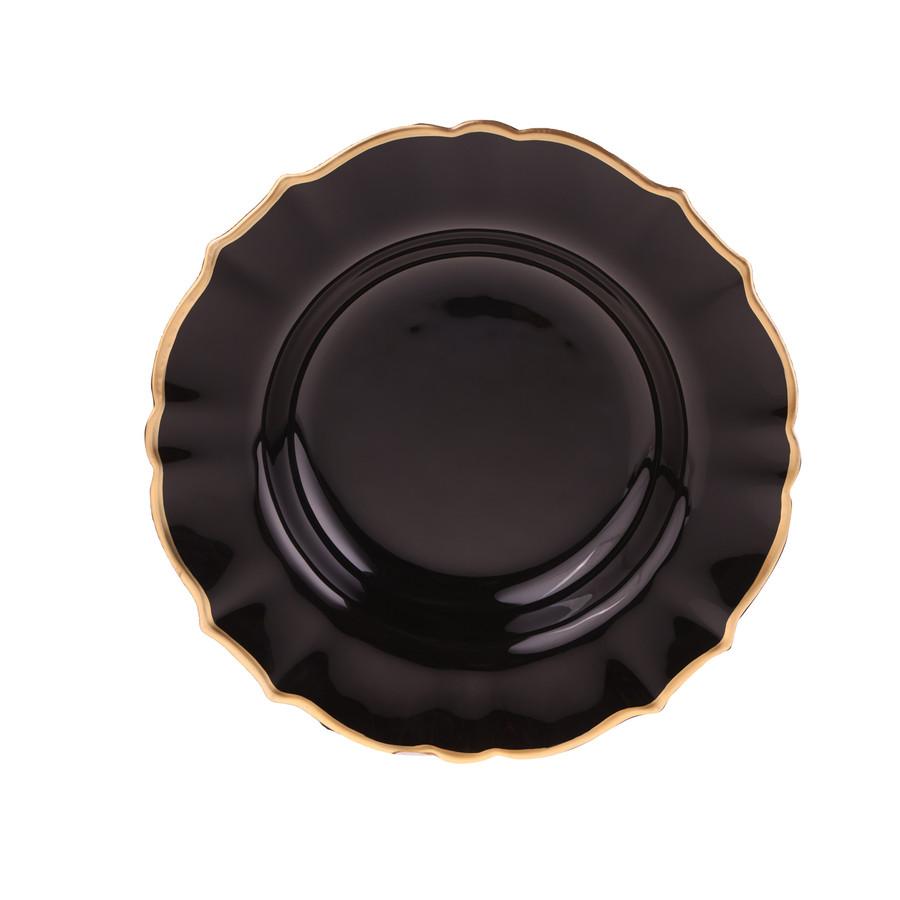 Karaca Empire Siyah 6 Kişilik Pasta Takımı