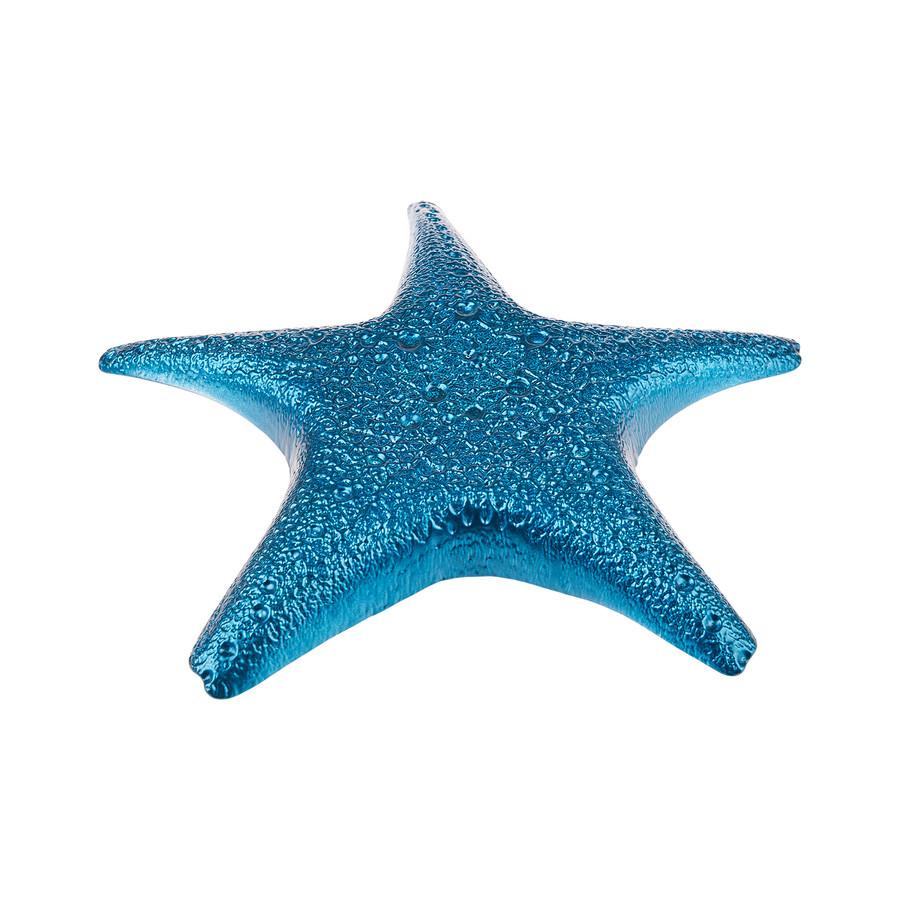 Karaca Island Sea Star Mavi 35cm Tabak