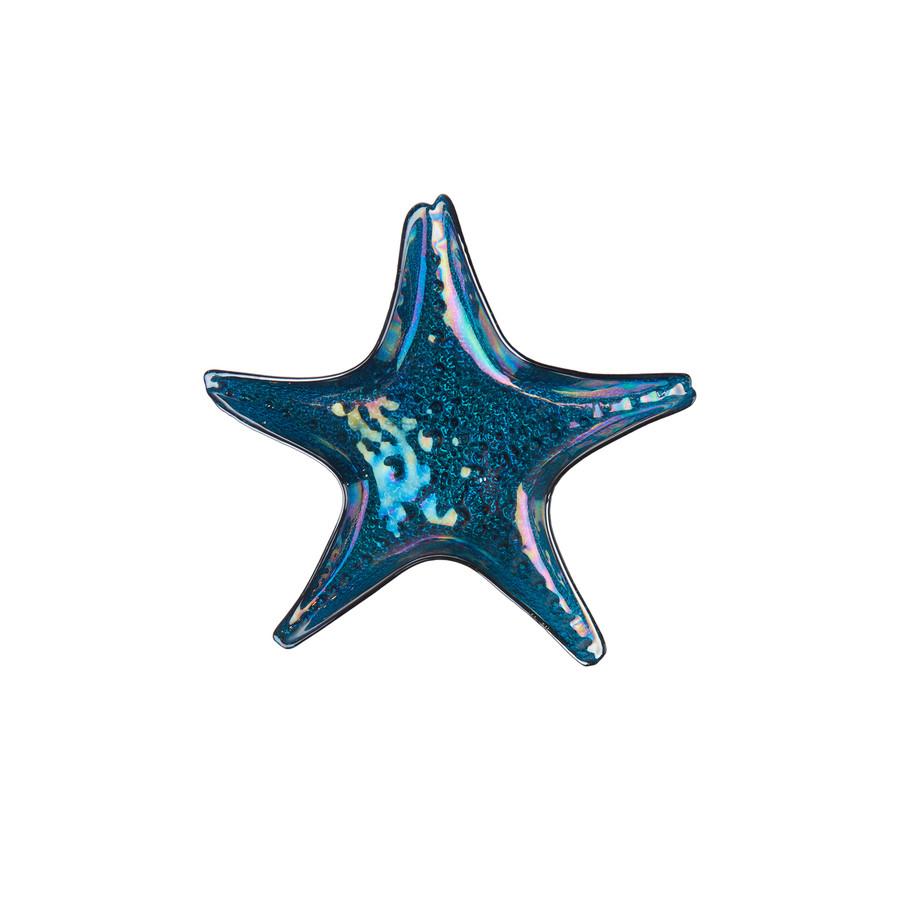 Karaca Island Sea Star Mavi 21cm Tabak