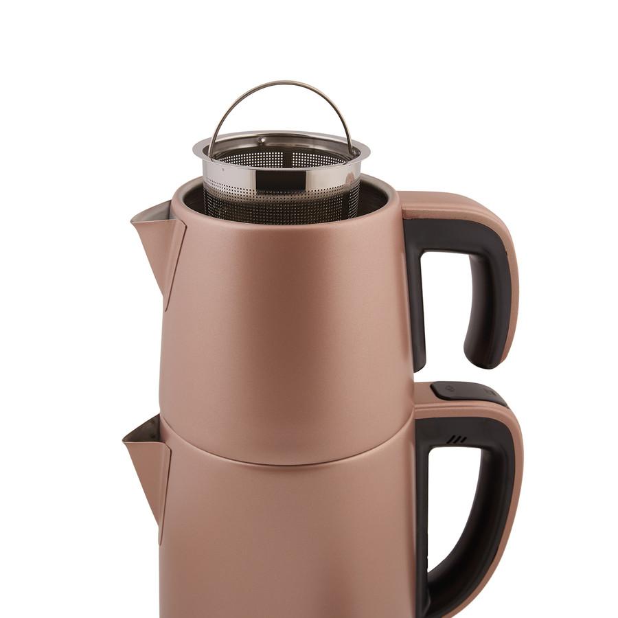 Karaca Dem Keyfi Rosegold Çay Makinesi