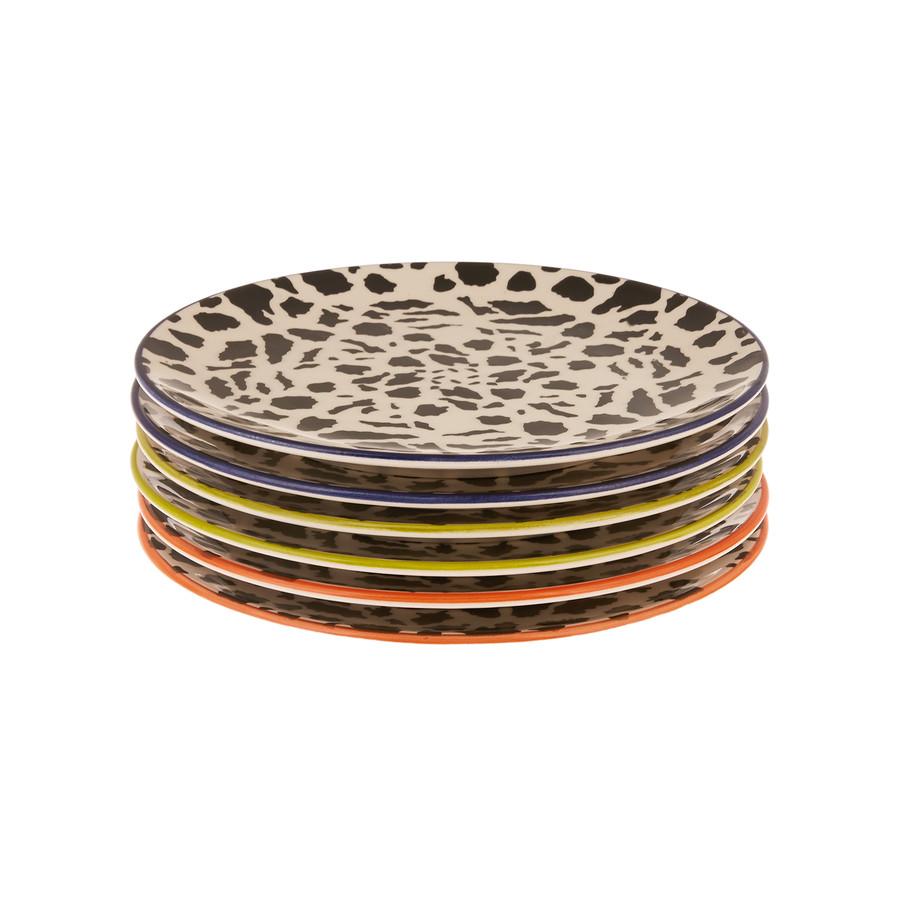 Karaca Colourful 6 Kişilik Pasta Takımı