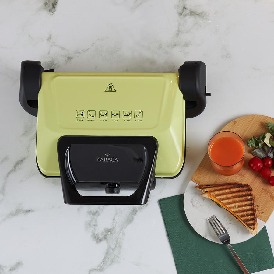 Karaca Future Plus Biodiamond Antibakteriyel Lime Tost Makinesi