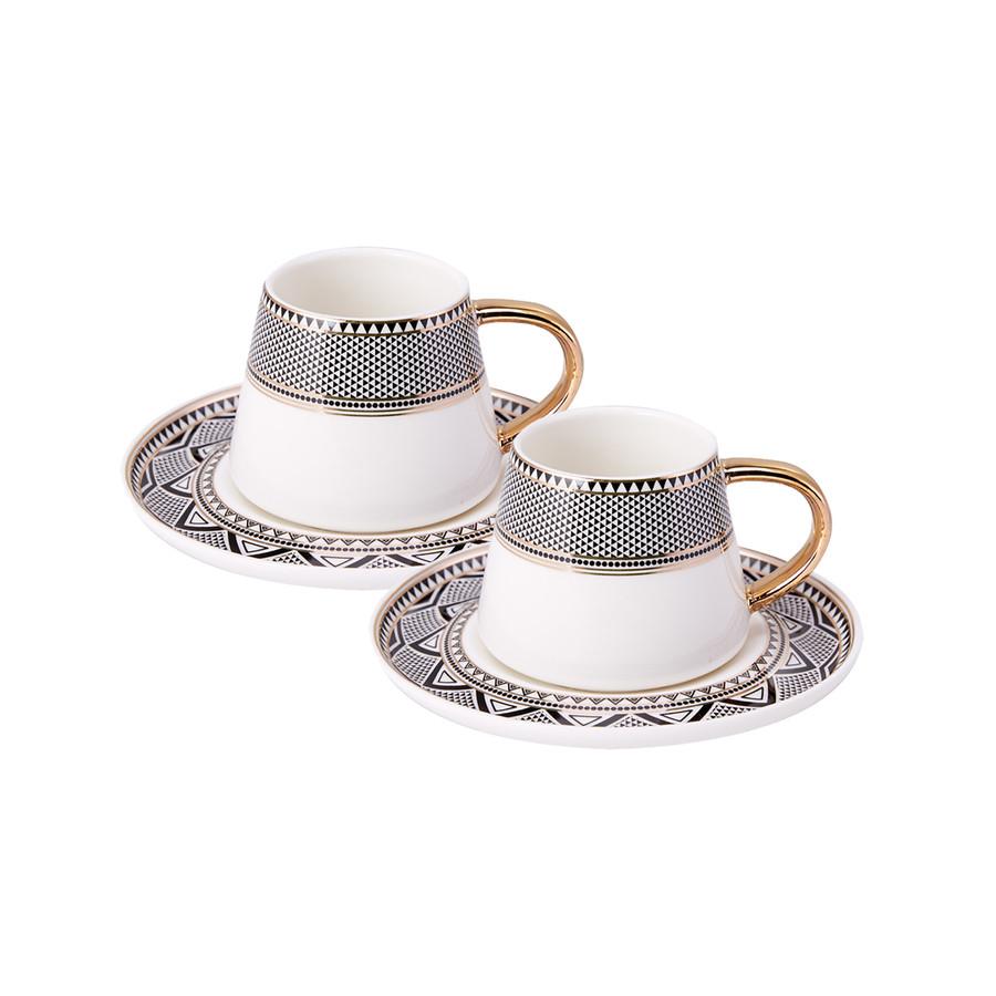 Karaca Globe 2 Kişilik Kahve Fincanı Takımı