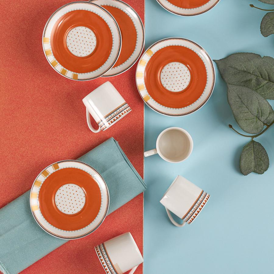 Karaca Bonita 6 Kişilik Kahve Fincanı Takımı
