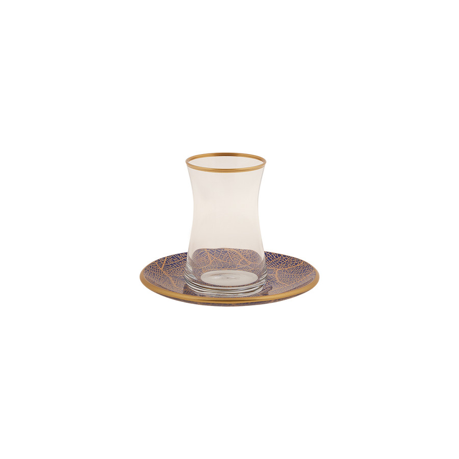 Karaca Beylikdüzü Kırlangıç 12 Parça 6 Kişilik Çay Seti