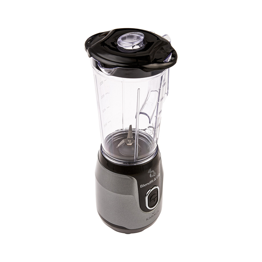 Karaca Blendfit Go Antrasit Smoothie Blender