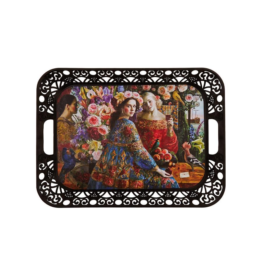 Karaca Boleyn Diktörgen Tepsi