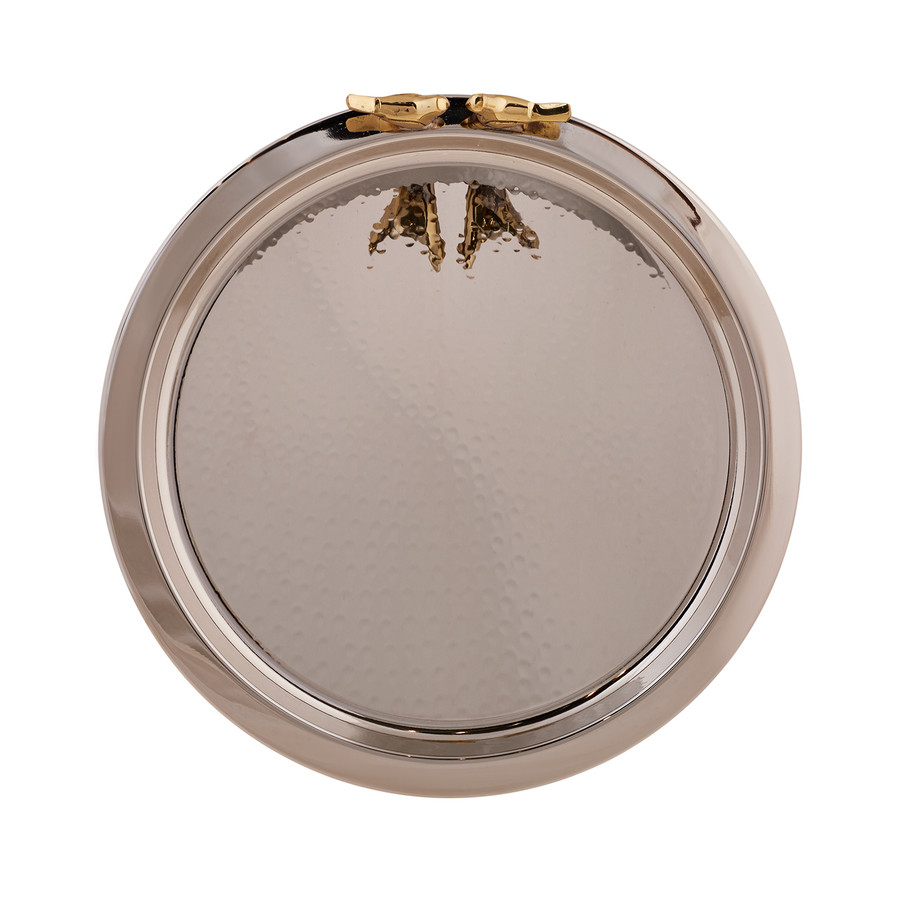 Karaca Birdy Gümüş Tepsi 30cm