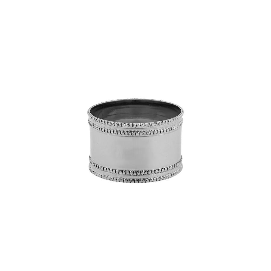 Karaca Dots 2li Gümüş Peçete Yüzüğü