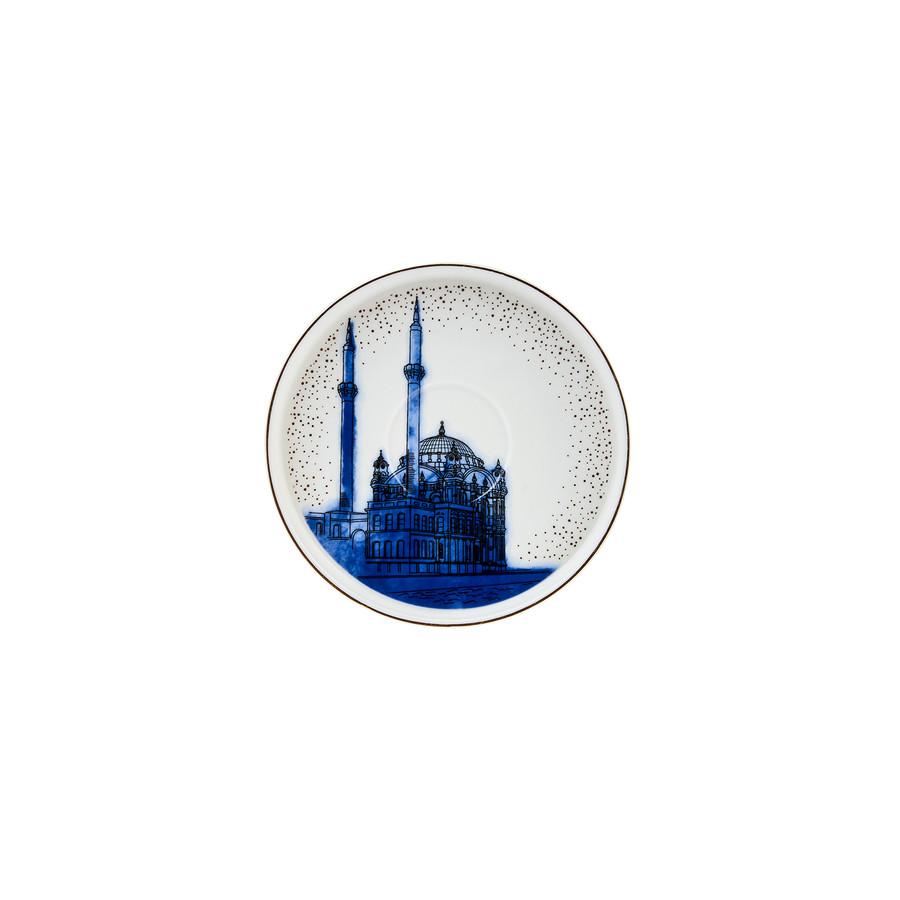 Karaca istanbul 6 Kişilik Kahve Fincanı Takımı