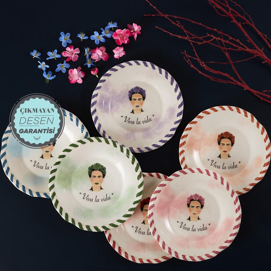 Karaca Frida 6 Kişilik Pasta Takımı