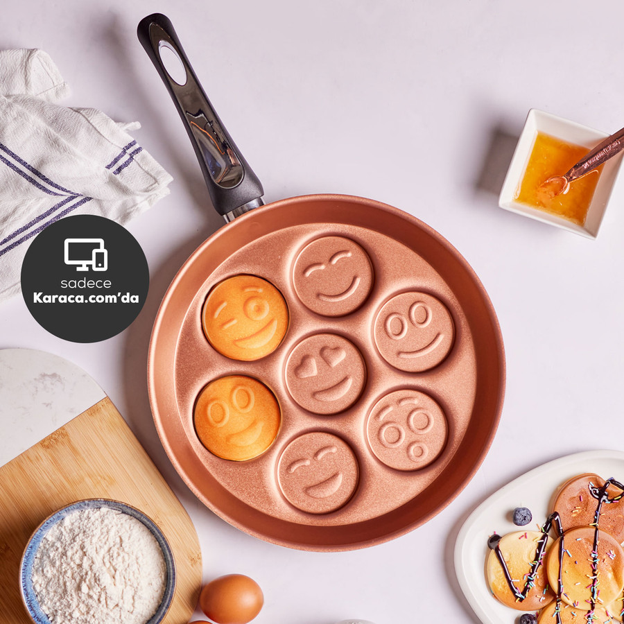 Karaca Arya Emoji Pancake Kalıbı