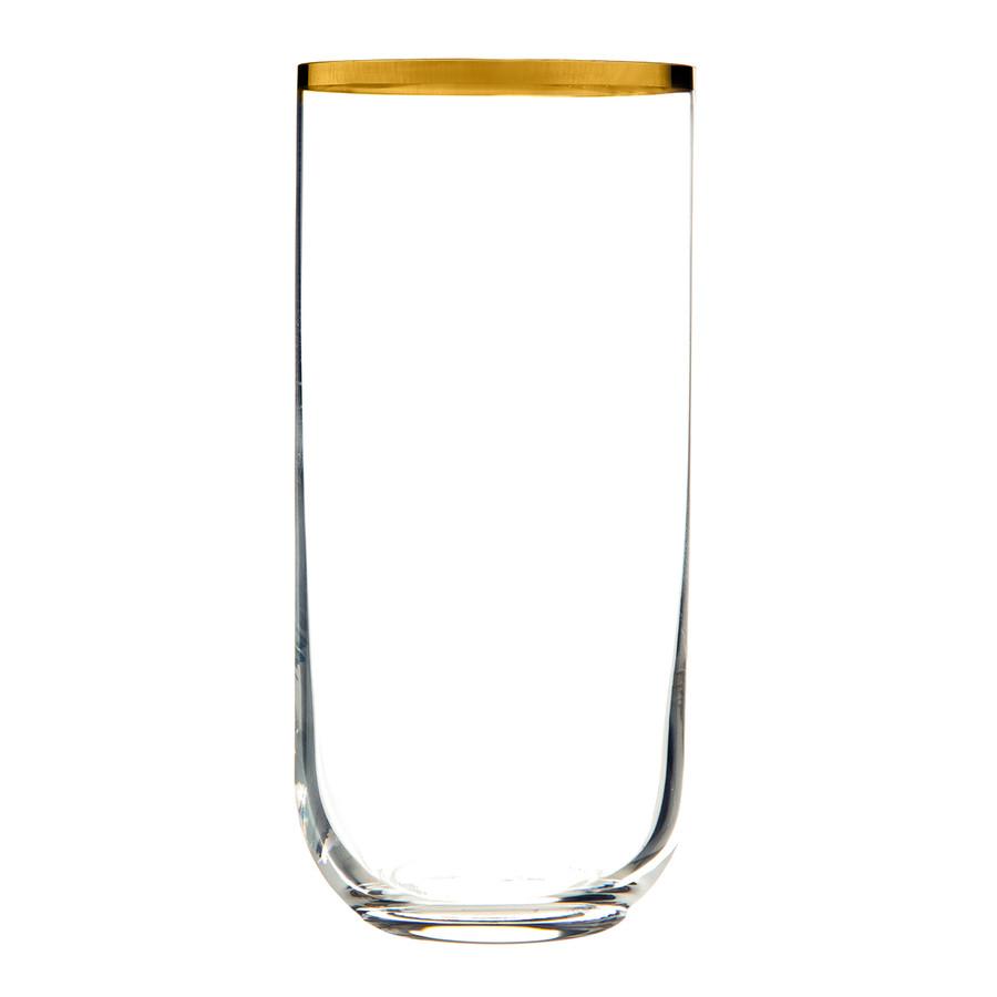 Jumbo Ronat Rimli 6'lı Meşrubat Bardağı