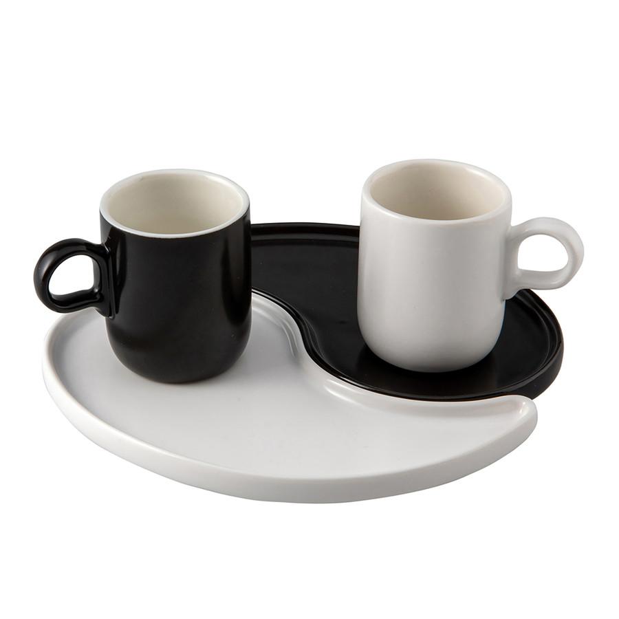 Jumbo Ying Yang 2'li Kahve Fincanı