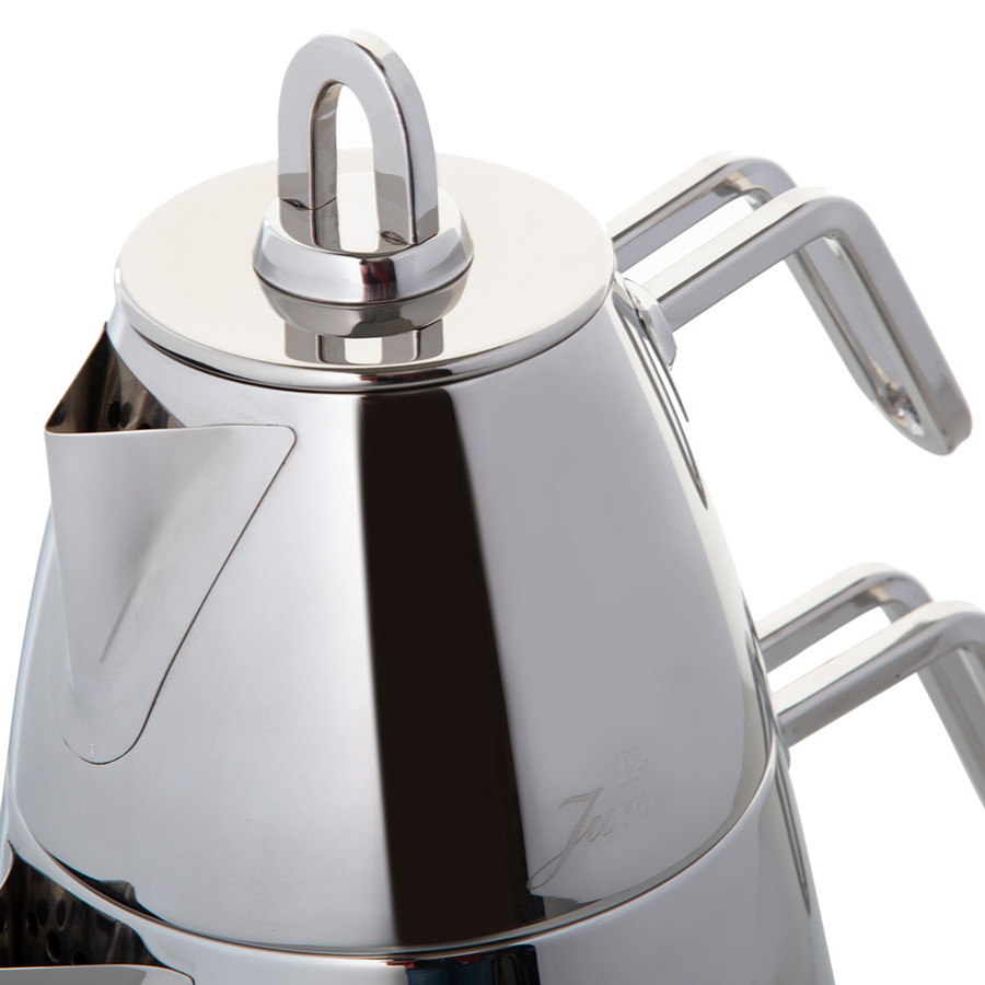 Jumbo Teos Çaydanlık Metal Saplı