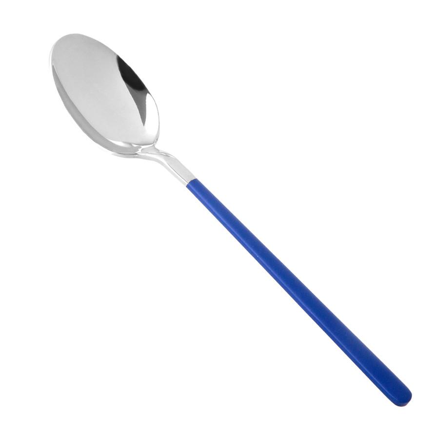 Jumbo Paint Blue Parlak 18 Parça 6 Kişilik Çatal Kaşık Bıçak Seti