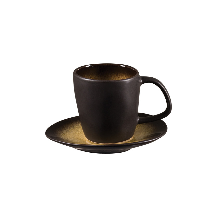 Jumbo Bitter Kahve Fincanı Tabak 11 cm (Fincansız)