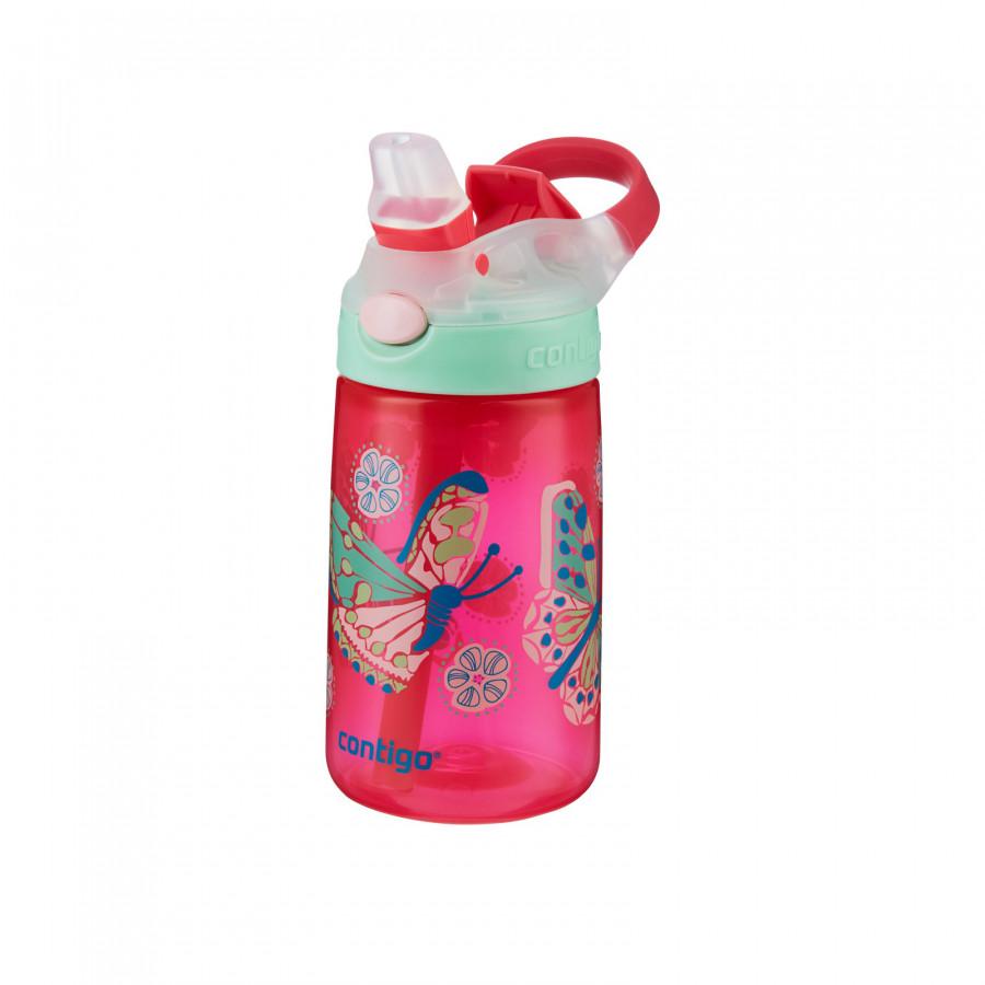 Contigo Gizmo Flip Sparkles Butterfly 420 ml White Su Matarası