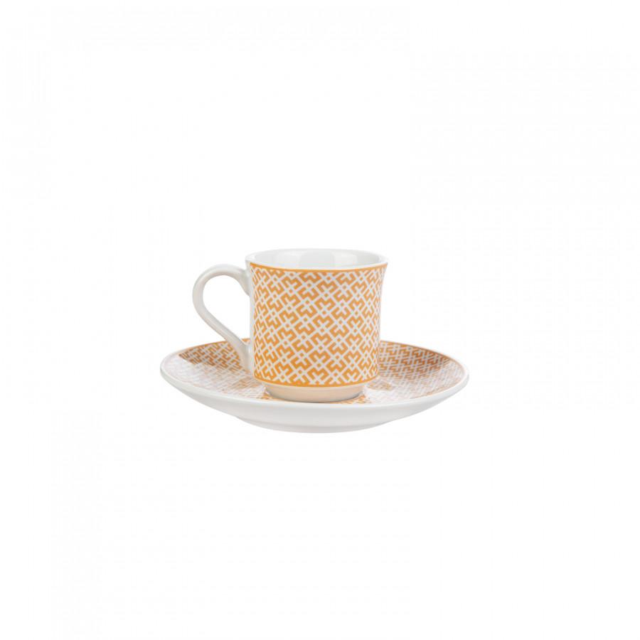 Apricot Vivi Gold 6 Kişilik Kahve Fincanı Takımı