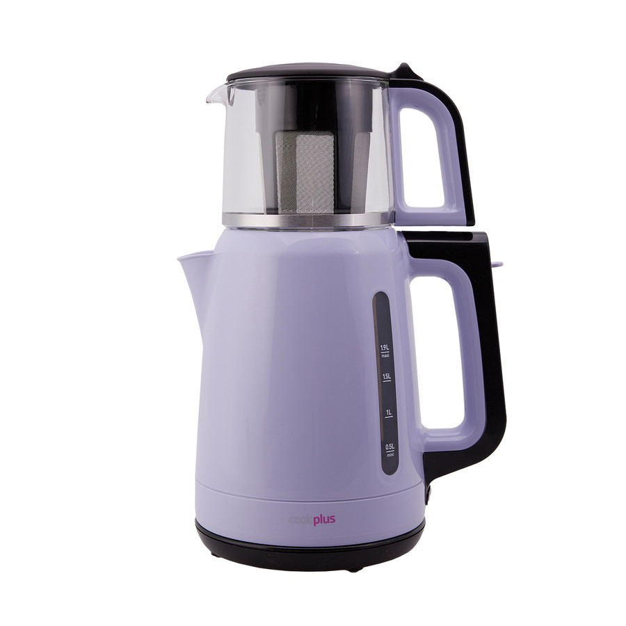 Cookplus Yeni 1501 Enerji Tasarruflu Kettle Çay Makinesi Lila