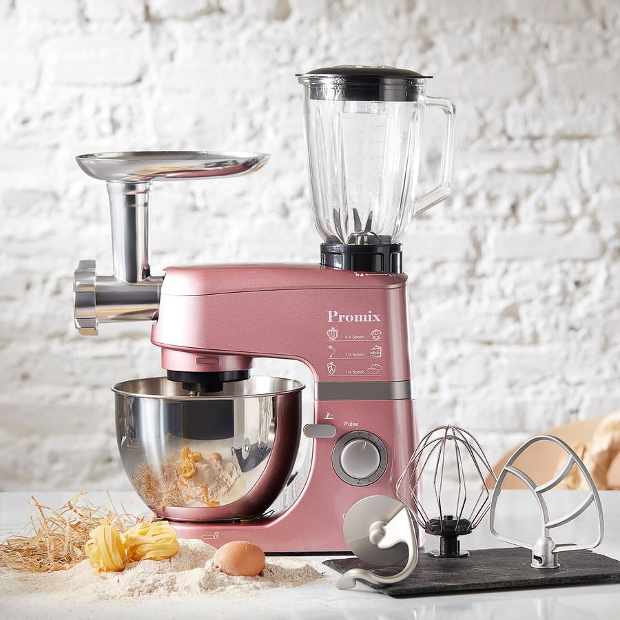 Cookplus by Karaca Promix Ef802 Stand Mikser 1000W Mutfak Şefi Pink