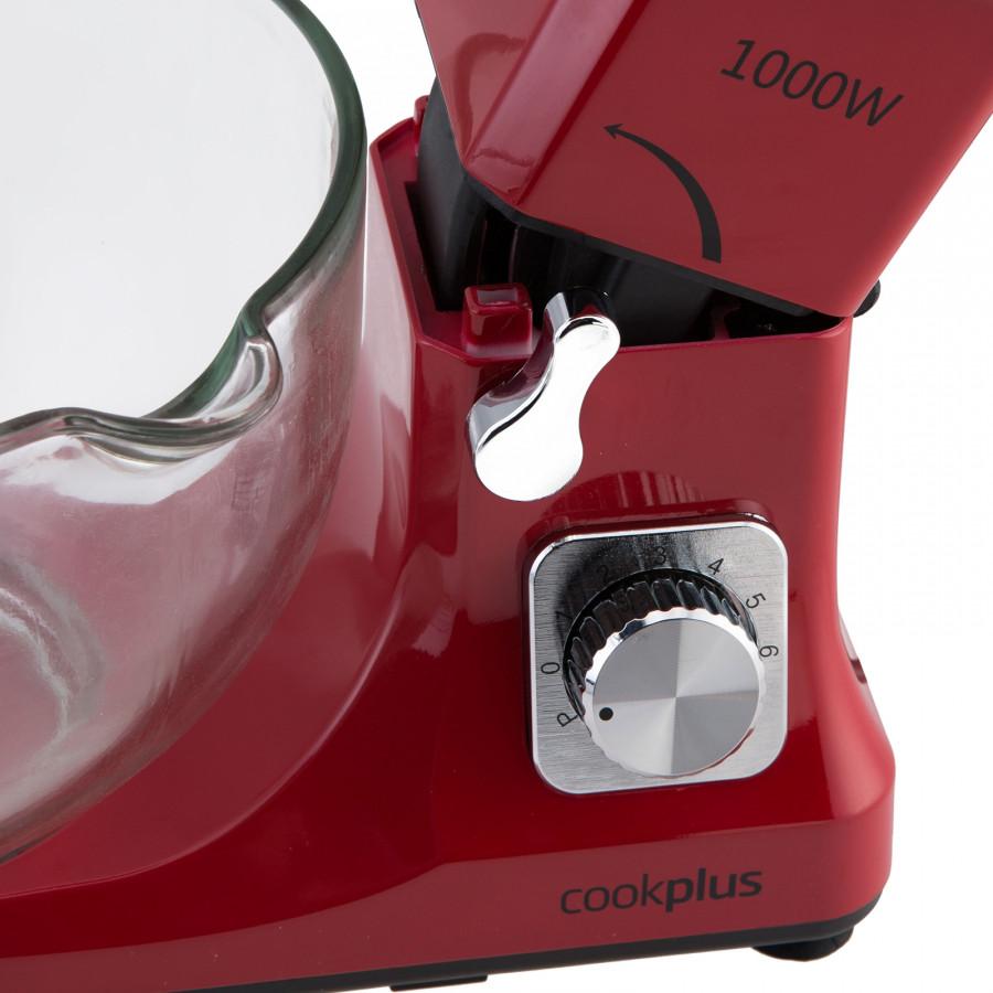 Cookplus Quick Chef 1001 Cam Hazneli Mutfak Robotu Redgold 1000W