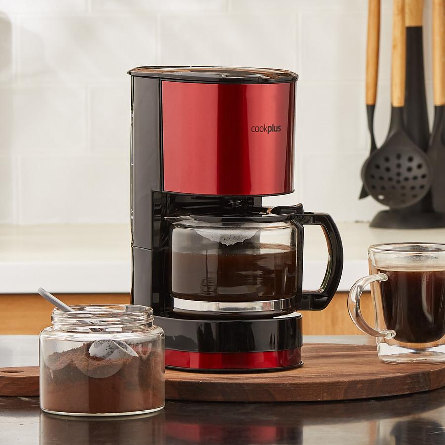 Cookplus Coffee Keyf Filtre Kahve Makinesi Red 601