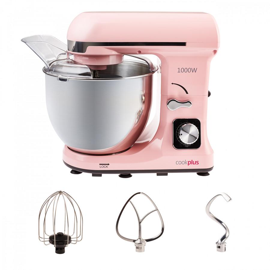 Cookplus by Karaca Quick Chef 1001 Stand Mikser Pink Mutfak Şefi 1000W 5 Lt