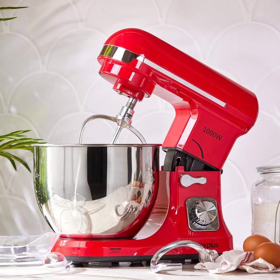 Cookplus by Karaca Quick Chef 1001 Stand Mikser Red Mutfak Şefi 1000W 5 Lt