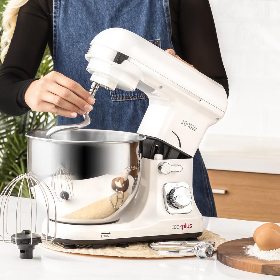 Cookplus by Karaca Quick Chef 1001 Stand Mikser Cream Mutfak Şefi  1000W 5 Lt