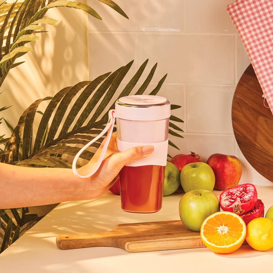 Cookplus by Karaca Pink Taşınabilir Şarjlı Smoothie Blender