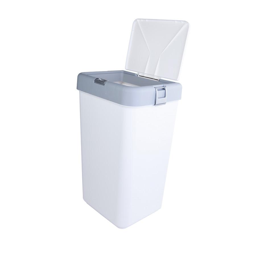 Sarah Anderson Tek Gri Beyaz Çamaşırlık