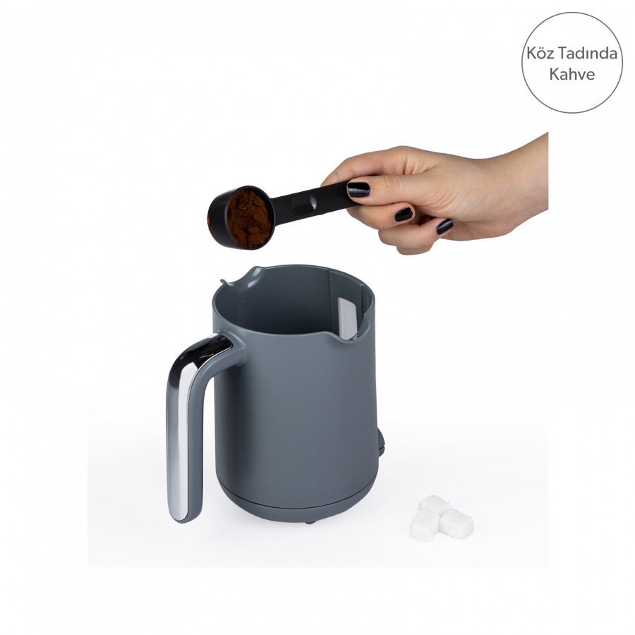 Homend Pottoman 1833h Su Yeşili Türk Kahve Makinesi