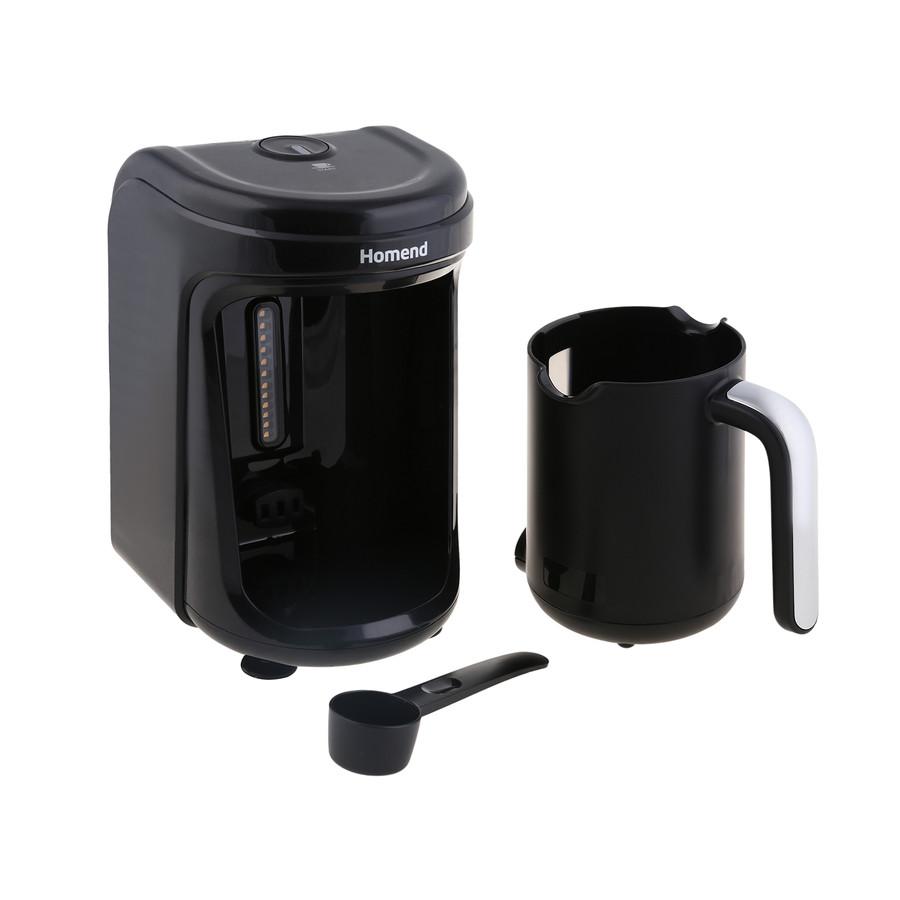 Homend Pottoman 1840h Türk Kahve Makinesi Siyah