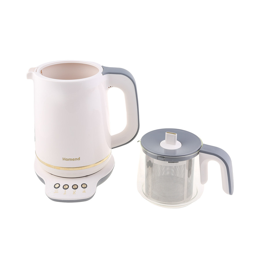 Homend Royaltea 1760h Konuşan Çay Makinesi Krem Gold